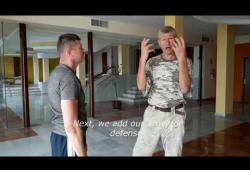 """Демо-версия онлайн-урока «Самое эффективное техническое умение атаковать ножом, палкой и рукой сверху вниз и защита от них"""""""
